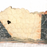 Arabica - stort krumt objekt, længde 25 cm