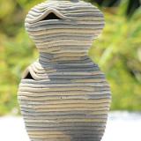 Nilen - Dobbelt beholder, højde 21 cm
