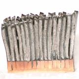 Palisade - lang, grundmål 14 x 3 cm - (solgt)