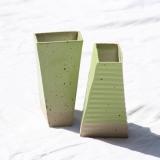 Grønne tårnvaser