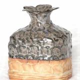 Arabica - vaselignende objekt, firkantet, højde 15 cm