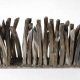 Palisade - grå, længde 18 cm