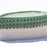 Porcelænskål med spids, højde 4 cm